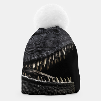 Thumbnail image of Trex Dinosaur Head Dark Poster Beanie, Live Heroes