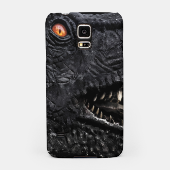 Thumbnail image of Trex Dinosaur Head Dark Poster Samsung Case, Live Heroes