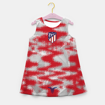 Thumbnail image of Alternative Atlético de Madrid Blood Vestido de verano para niñas, Live Heroes
