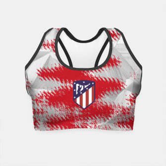 Miniatur Alternative Atlético de Madrid Blood Crop Top, Live Heroes