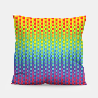 Thumbnail image of Rainbow 1 Pillow, Live Heroes