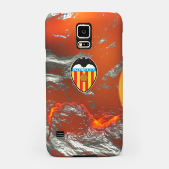 Miniatur Alternative Valencia Orange Magma Carcasa por Samsung, Live Heroes