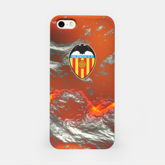 Miniatur Alternative Valencia Orange Magma Carcasa por Iphone, Live Heroes