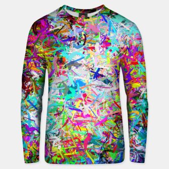 Miniatur Abstract composition Unisex sweater, Live Heroes