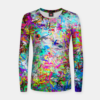 Miniatur Abstract composition Women sweater, Live Heroes