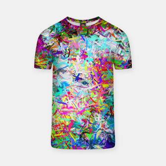 Miniatur Abstract composition T-shirt, Live Heroes