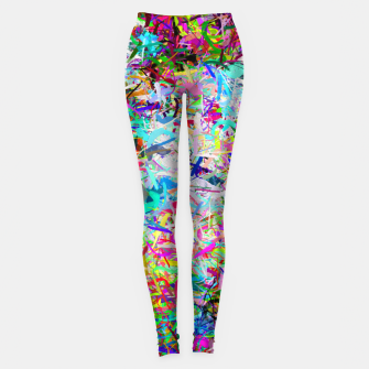Miniatur Abstract composition Leggings, Live Heroes