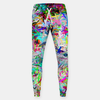 Miniatur Abstract composition Sweatpants, Live Heroes