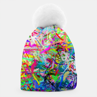 Miniatur Abstract composition Beanie, Live Heroes