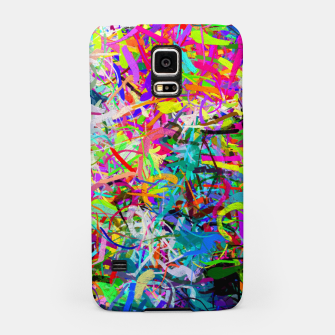 Miniatur Abstract composition Samsung Case, Live Heroes