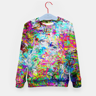 Miniatur Abstract composition Kid's sweater, Live Heroes