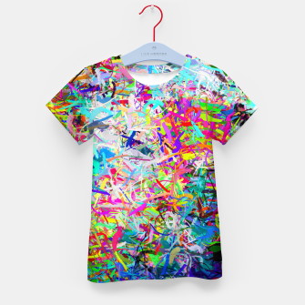 Miniatur Abstract composition Kid's t-shirt, Live Heroes