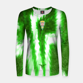 Thumbnail image of Alternative Córdoba Energy Green Sudadera para mujeres, Live Heroes