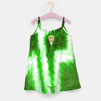 Thumbnail image of Alternative Córdoba Energy Green Vestido para niñas, Live Heroes