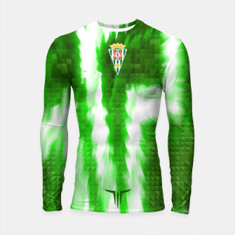 Thumbnail image of Alternative Córdoba Energy Green Longsleeve rashguard, Live Heroes