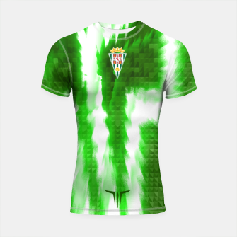 Miniatur Alternative Córdoba Energy Green Shortsleeve rashguard, Live Heroes