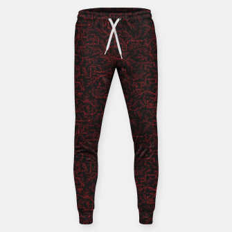 Thumbnail image of Last flash of sunset on sakura bloom at twilight Sweatpants, Live Heroes