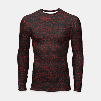 Thumbnail image of Last flash of sunset on sakura bloom at twilight Longsleeve rashguard , Live Heroes