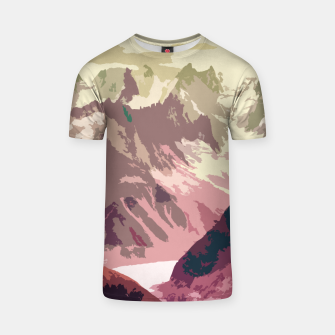 Miniatur Mountain River T-shirt, Live Heroes