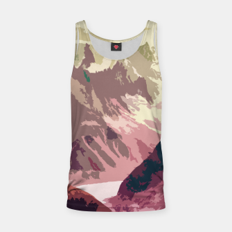 Miniatur Mountain River Tank Top, Live Heroes