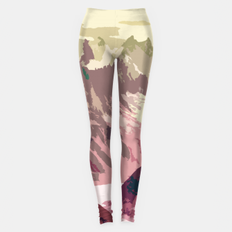 Miniaturka Mountain River Leggings, Live Heroes
