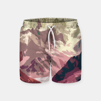 Miniatur Mountain River Swim Shorts, Live Heroes