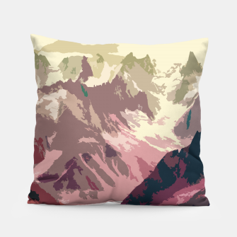 Miniatur Mountain River Pillow, Live Heroes