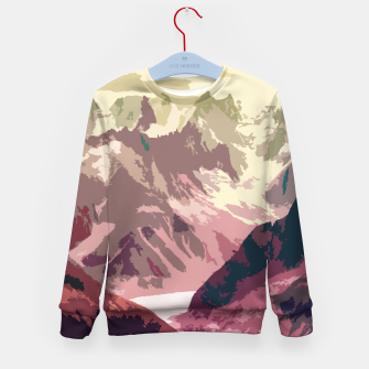 Thumbnail image of Mountain River Kid's sweater, Live Heroes