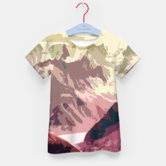 Miniaturka Mountain River Kid's t-shirt, Live Heroes