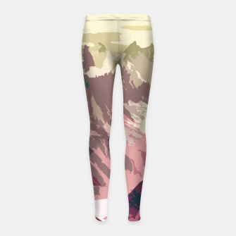 Thumbnail image of Mountain River Girl's leggings, Live Heroes
