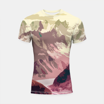 Thumbnail image of Mountain River Shortsleeve rashguard, Live Heroes