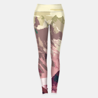 Miniatur Mountain River Leggings, Live Heroes