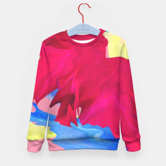 Thumbnail image of Flower power Kid's sweater, Live Heroes