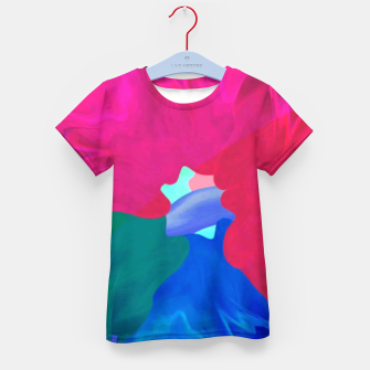 Thumbnail image of Flower power Kid's t-shirt, Live Heroes