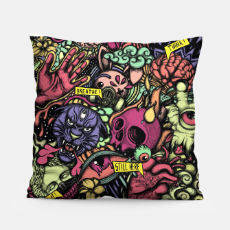 Thumbnail image of Still Here Pillow, Live Heroes