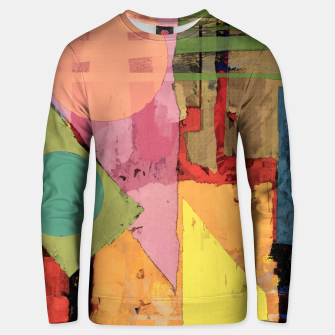 Thumbnail image of Over the rooftops Unisex sweater, Live Heroes