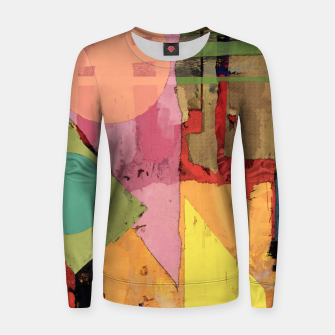 Thumbnail image of Over the rooftops Women sweater, Live Heroes