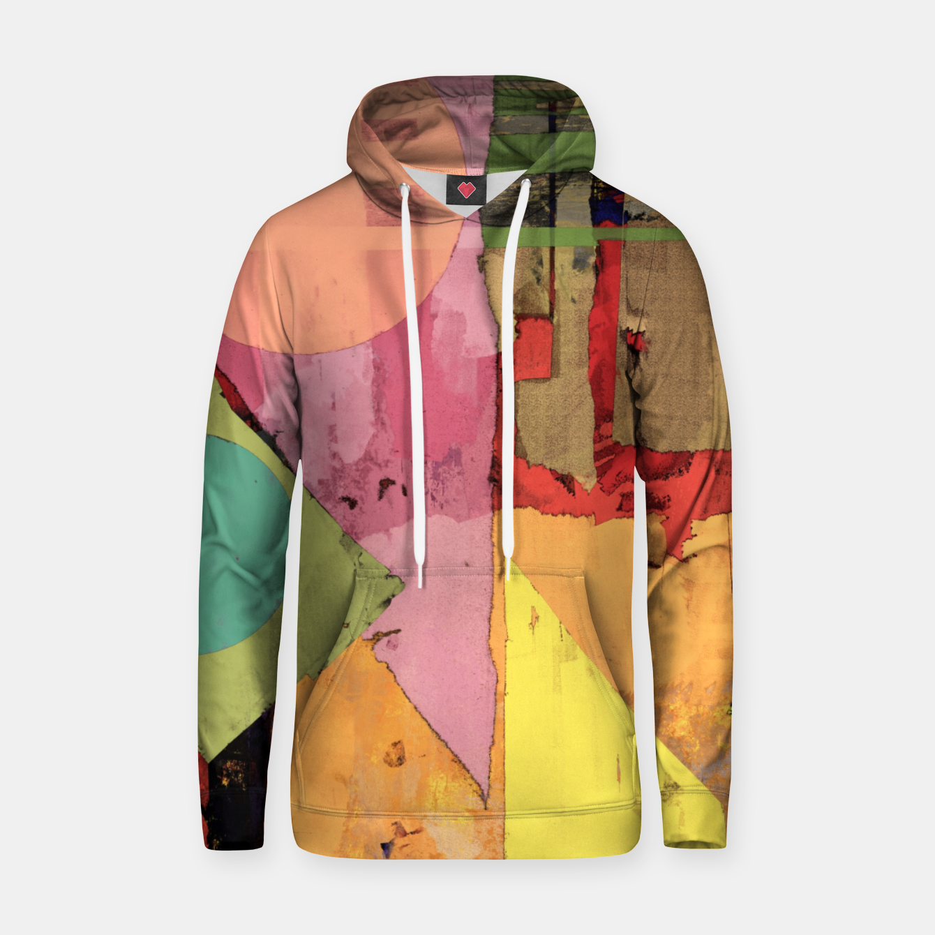 Image of Over the rooftops Hoodie - Live Heroes