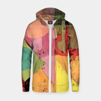 Thumbnail image of Over the rooftops Zip up hoodie, Live Heroes