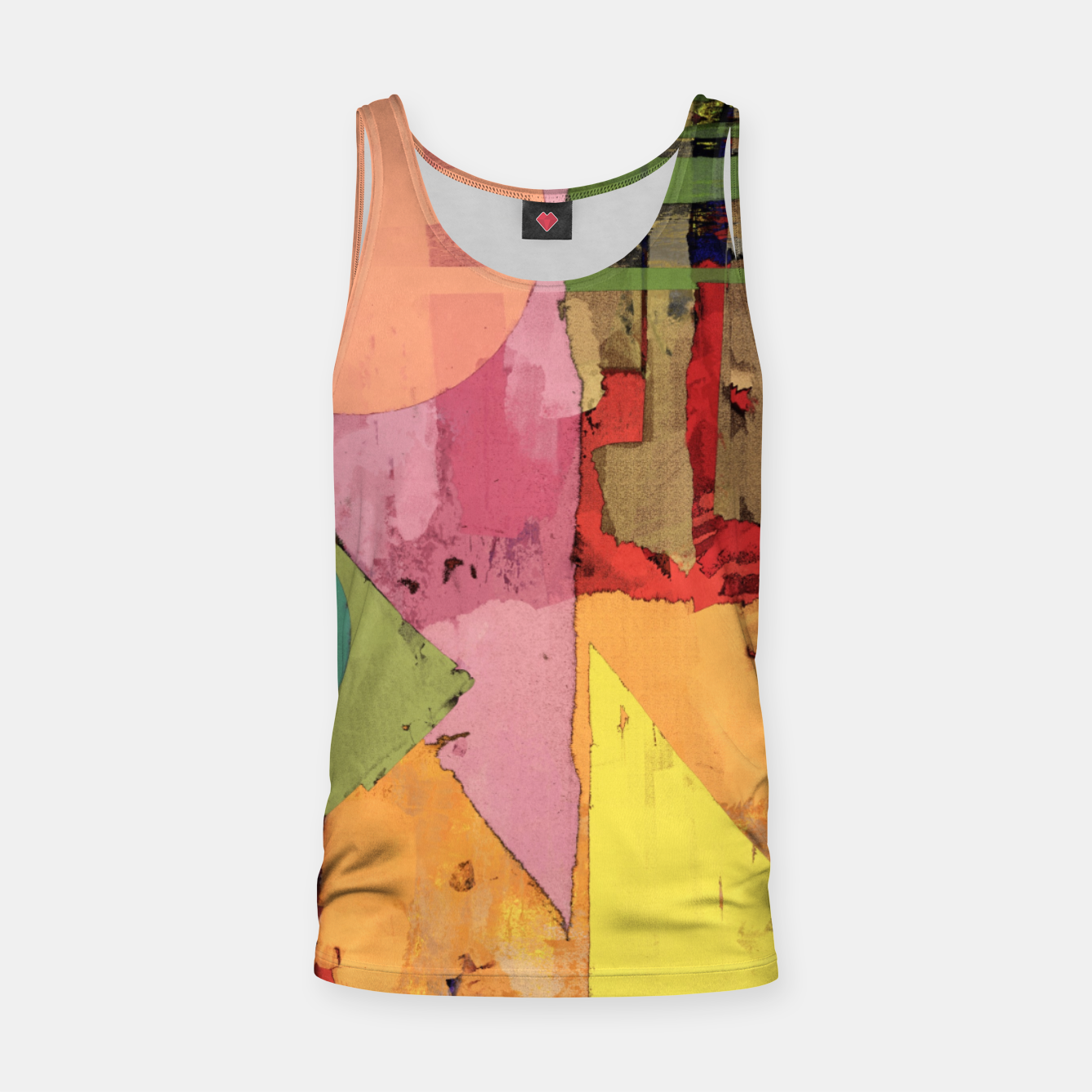 Image of Over the rooftops Tank Top - Live Heroes