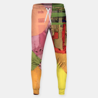 Thumbnail image of Over the rooftops Sweatpants, Live Heroes