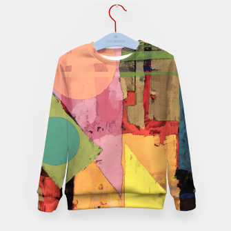 Thumbnail image of Over the rooftops Kid's sweater, Live Heroes