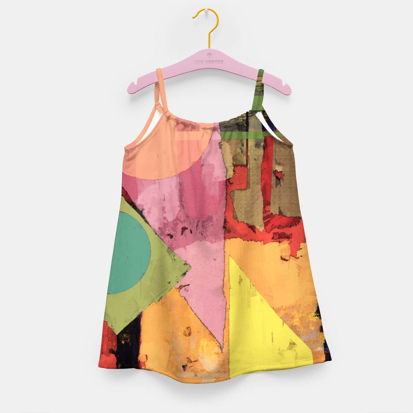 Image of Over the rooftops Girl's dress - Live Heroes