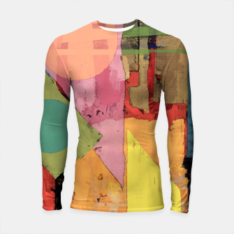 Thumbnail image of Over the rooftops Longsleeve rashguard , Live Heroes