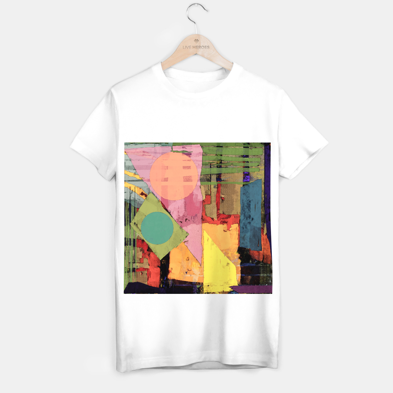Image of Over the rooftops T-shirt regular - Live Heroes