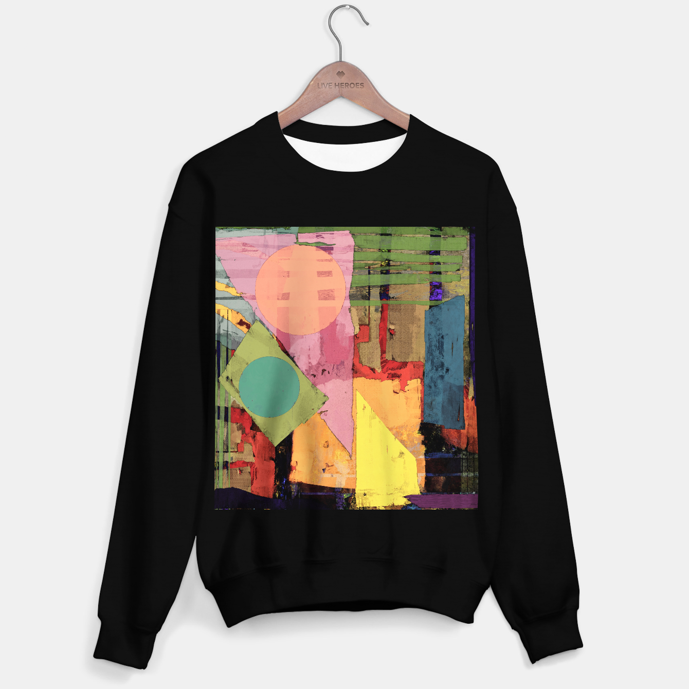 Image of Over the rooftops Sweater regular - Live Heroes