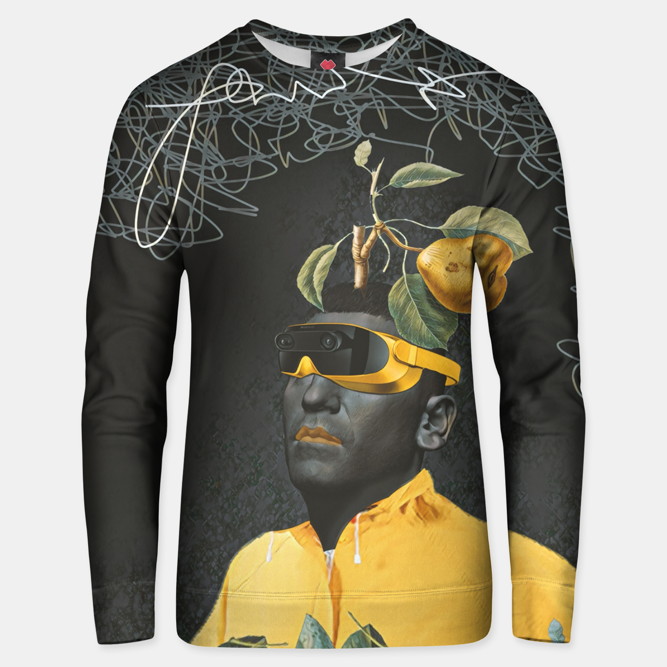 Image of To the future Unisex sweater - Live Heroes