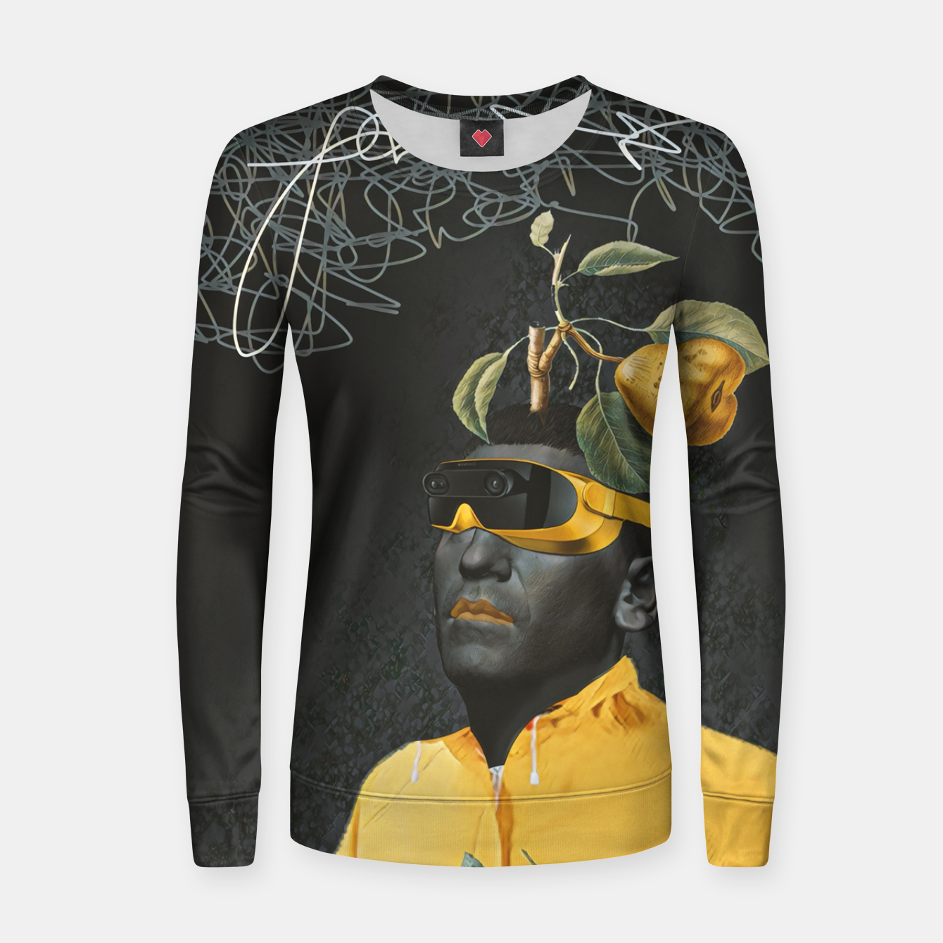 Image of To the future Women sweater - Live Heroes