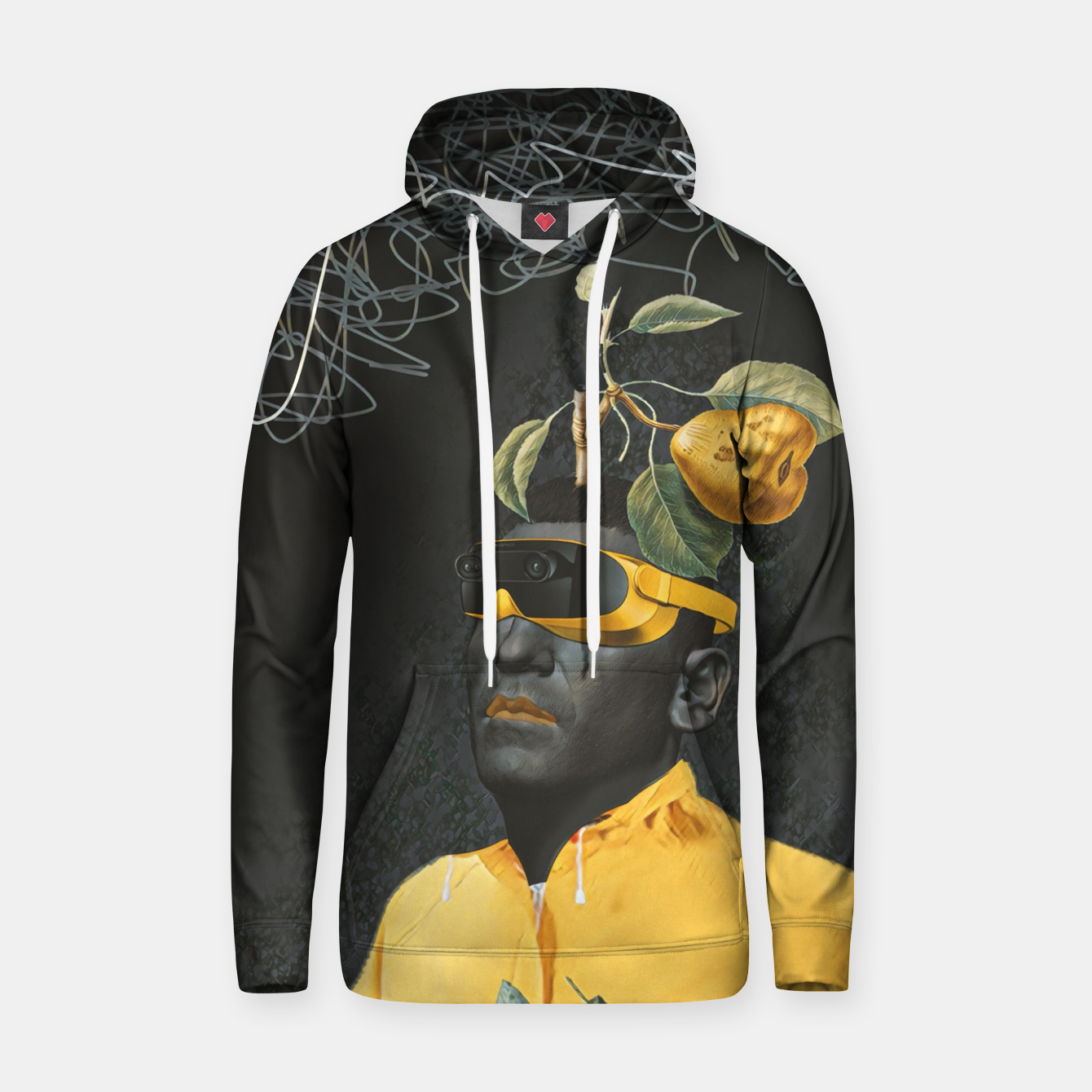 Image of To the future Hoodie - Live Heroes