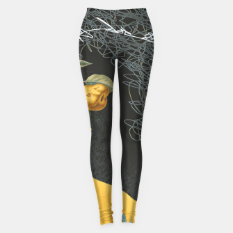 Miniature de image de To the future Leggings, Live Heroes